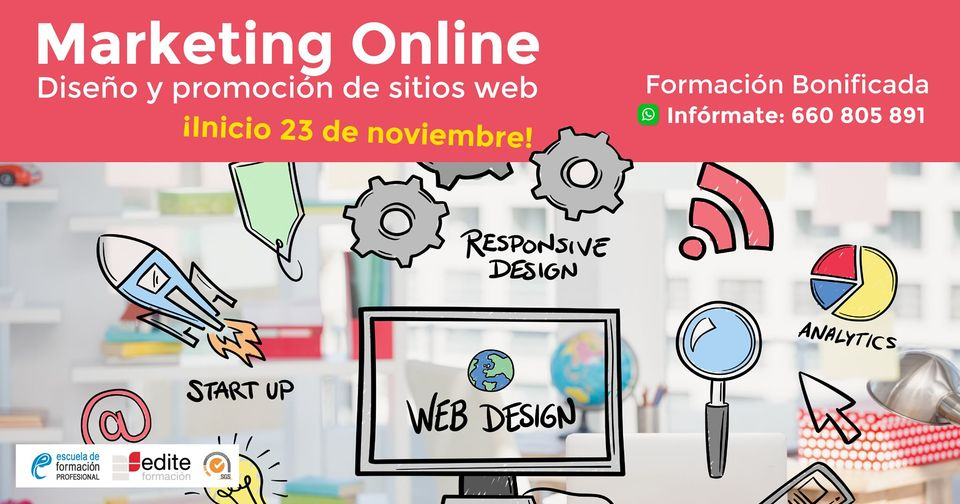 Marketing Online, Diseño y Promoción de Sitios Web