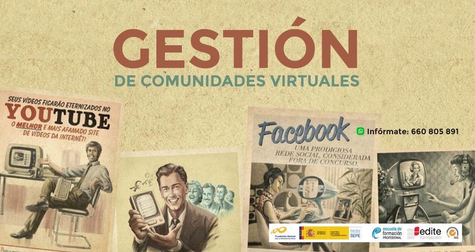 Curso de Gestión de Comunidades Virtuales