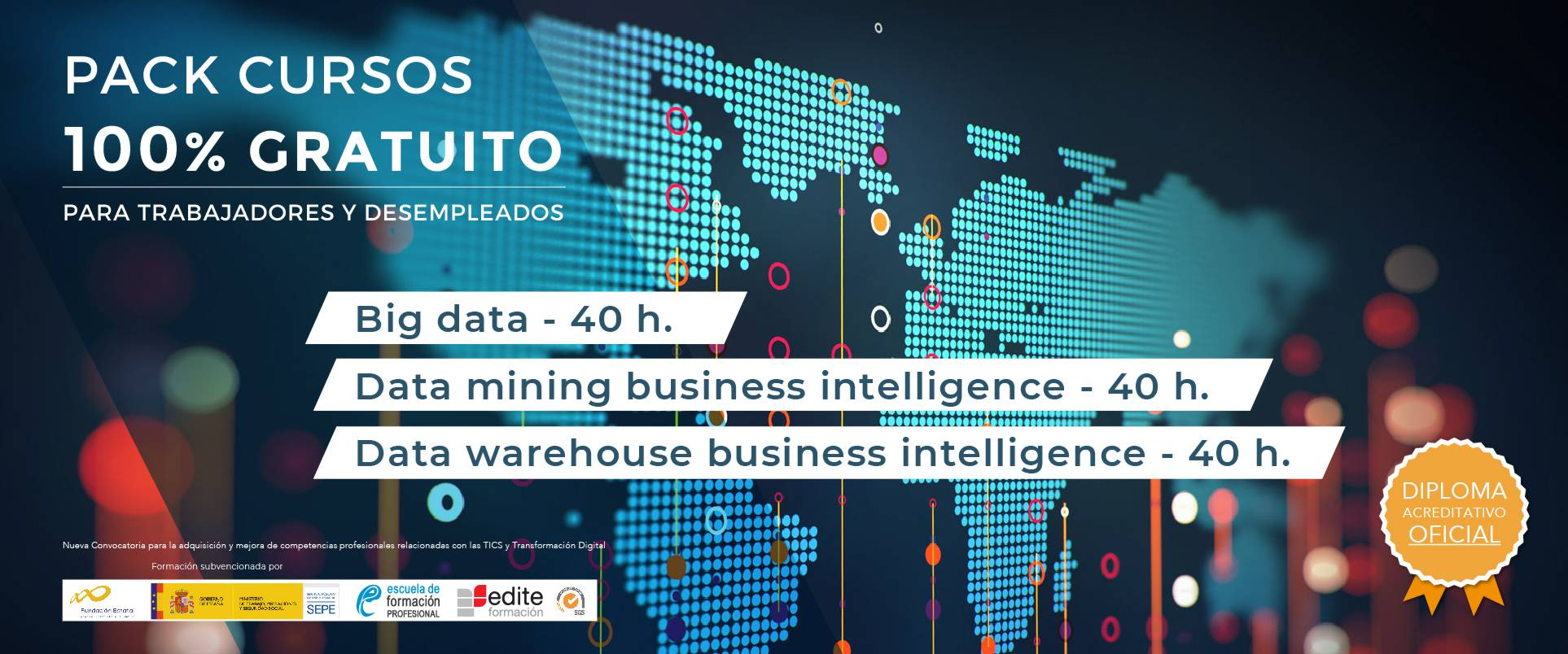 Pack de cursos - Big Data, Data Mining y Data Warehouse